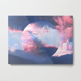 Ethernal Spring Sky Metal Print