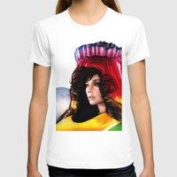 bjork T-shirts featuring BJORK - VOLTA by Denda Reloaded