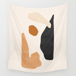 Abstract Plateau Wall Tapestry