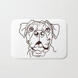 The Boxer Dog Love of my Life Bath Mat