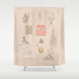 Brooklyn Pieces 1 Shower Curtain