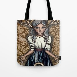 deer Woman Tote Bag