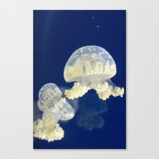 Jellyfish Party Canvas Print