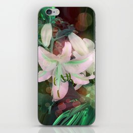 Auras Dancing with the Lilies  iPhone Skin