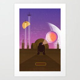 May the Fourth be with You Art Print