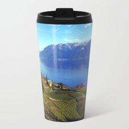 Lake Geneva Landscape  Travel Mug