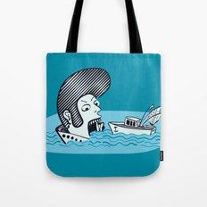 Elvis Eats Boats Tote Bag