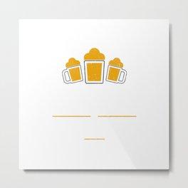 St. Louis Is Brewtiful Craft Beer with Barley & Hops Metal Print