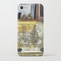 gossip girl iPhone & iPod Cases featuring Cats Gossip by Nikolay Raikov