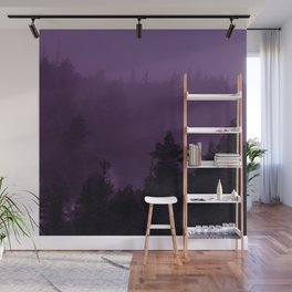 Purple Fog Wall Mural