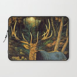 Bull Elk in Autumn Laptop Sleeve