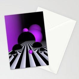pink or violet -1- Stationery Cards