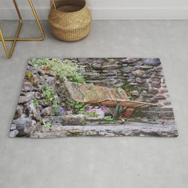 The bench Rug