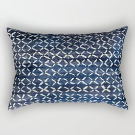 Watercolor Batik  Rectangular Pillow