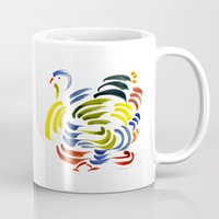 turkey Mugs featuring Turkey by John Kneapler