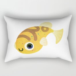 Dwarf puffer Rectangular Pillow