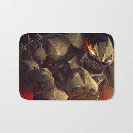 Earth Elemental battle Bath Mat