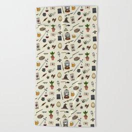 Harry pattern Beach Towel