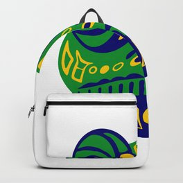 frog cute animals art funny Backpack