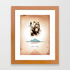 2 of 3 triptych print series Framed Art Print