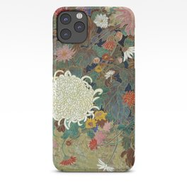 flower【Japanese painting】 iPhone Case