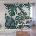 Tropical Palm Leaves Classic on Marble by followmeinstead