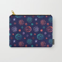 Cosmic Swirl Carry-All Pouch