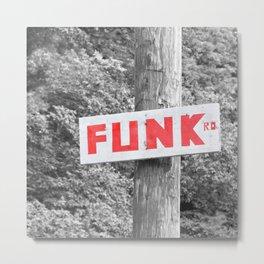 Funk Road Metal Print