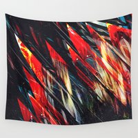 runner Wall Tapestries featuring Blade runner by Kardiak