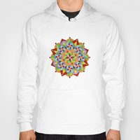 manchester Hoodies featuring Manchester Mandala  by Patricia Shea Designs