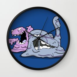 Pokémon - Number 88 & 89 Wall Clock