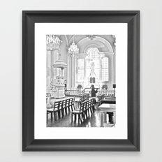 WHITEOUT : Prayers Framed Art Print