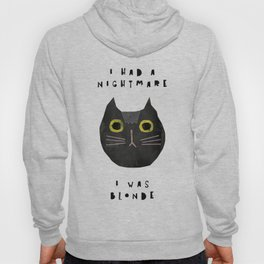 Blonde cat / poster, cat, art print, pictures, scandinavian, nursery, deco, family, art, animal, cat Hoody