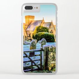 Snowshill View Clear iPhone Case