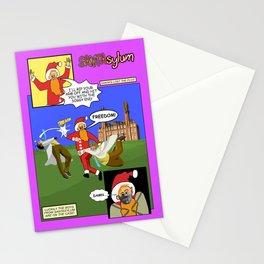 SANTAsylum - Freedom Stationery Cards