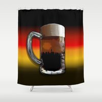 german Shower Curtains featuring German Sunset by G.B.Artdesign