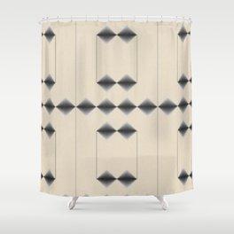 Diamond Stripes Shower Curtain