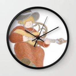 Folk Yeah! Wall Clock