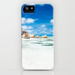 Paradise in Seychelles iPhone Case