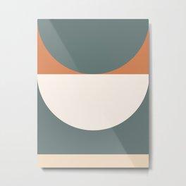 Abstract Geometric 03 Metal Print