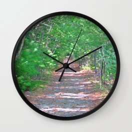 Trailblazing in Shelburne, Nova Scotia Wall Clock