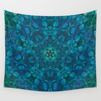 chuck Wall Tapestries featuring Sea of Leaves by Jellyfishtimes