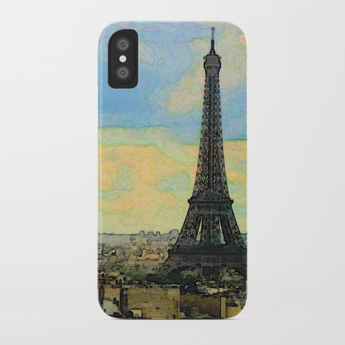 Watercolor Dream of Paris iPhone Case