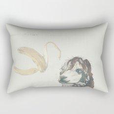 Lama banana Rectangular Pillow