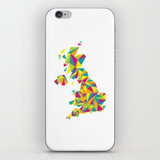 Abstract United Kingdom Bright Earth iPhone & iPod Skin