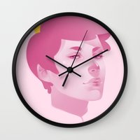 gumball Wall Clocks featuring Prince Gumball by spookzilla