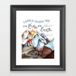 Ends of the Earth Framed Art Print