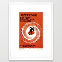 Vertigo - Movie Poster Framed Art Print