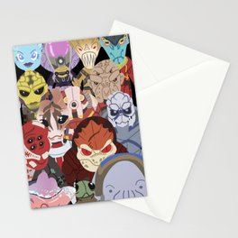 Aliens LOVE Stationery Cards