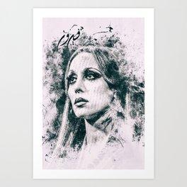 Fayrouz Arabic Queen Art Print